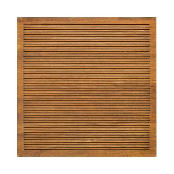 "Threshold Wood Letter Board Brown 14""x 14"" Decor"
